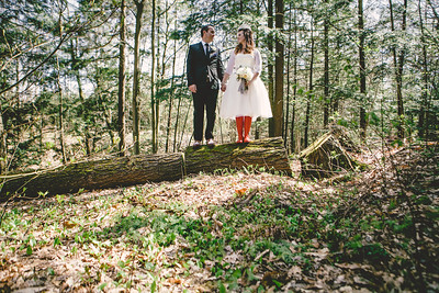 Colleen & Chris//Taboo Wedding, Muskoka