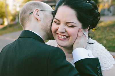 Kim and Aaron//Married in Muskoka, ©KateHood.ca, 2014