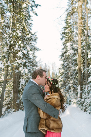 Taija and Dee//Winter Wonderland Wedding